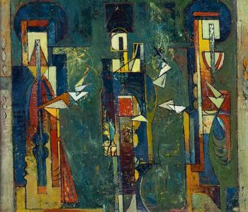 Выставка Валмара к 70-летию художника прошла в Национальной галерее Армении